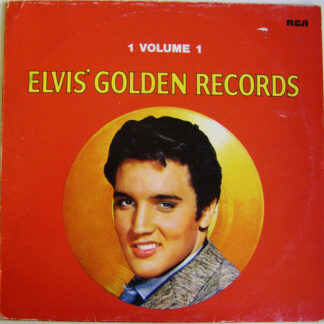 Elvis Presley - Elvis' Golden Records Volume 1 (LP, Comp, RE)