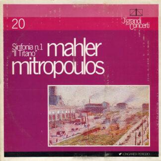 """Mahler*, Mitropoulos* - Sinfonia N.1  """"Il Titano"""" (LP, Gat)"""
