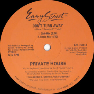 """Private House - Don't Turn Away (12"""")"""