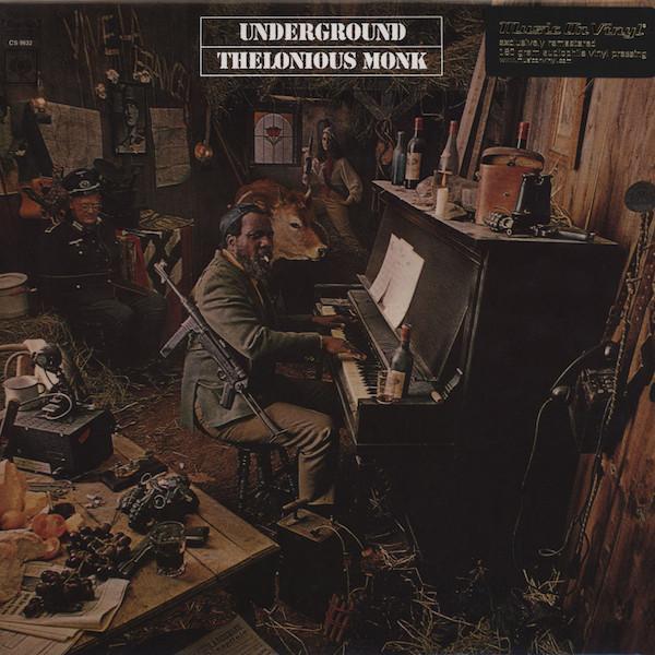 Thelonious Monk – Underground (LP, Album, RE, RM, 180)
