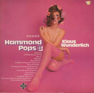 Klaus Wunderlich - Hammond Pops 8 (LP, Album, RE)