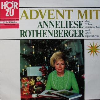 Anneliese Rothenberger, Tölzer Knabenchor - Advent Mit Anneliese Rothenberger Dem Tölzer Knabenchor Und Alten Spieluhren (LP, S/Edition)