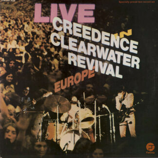 Creedence Clearwater Revival - Live In Europe (2xLP, Album, Gat)