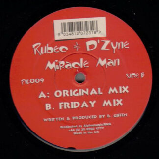 "Rubec & D'Zyne* - Miracle Man (12"")"