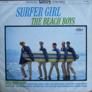 The Beach Boys - Surfer Girl (LP, Album, RE)