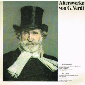 Verdi*, Zubin Mehta, Los Angeles Master Chorale, Los Angeles Philharmonic Orchestra - Alterswerke Von G. Verdi (LP, Album, Gat)