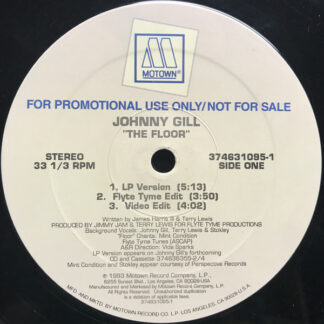 "Johnny Gill - The Floor (Remix) (12"", Promo)"