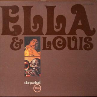 Ella* & Louis* - Ella & Louis  (2xLP, Comp + Box)