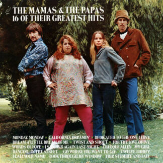The Mamas & The Papas - 16 Of Their Greatest Hits (LP, Comp, RE)
