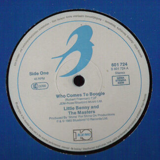 "Little Benny And The Masters* - Who Comes To Boogie (12"")"