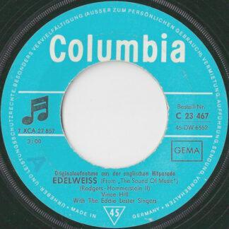 "Vince Hill - Edelweiss (7"", Single, Mono)"