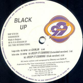 "Black Up - Ganja / Keep It Coming (12"")"
