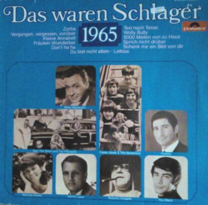 Various - Das Waren Schlager 1965 (LP, Comp, RE)