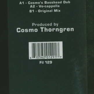 """Cosmostar - Who, What, When, Where (12"""")"""