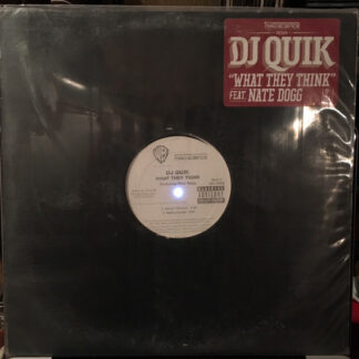 "DJ Quik - What They Think (12"", Promo)"