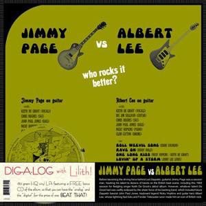 Jimmy Page Vs Albert Lee - Who Rocks It Better? (LP, 180 + CD)