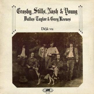 Crosby, Stills, Nash & Young - Déjà Vu (LP, Album, Gat)