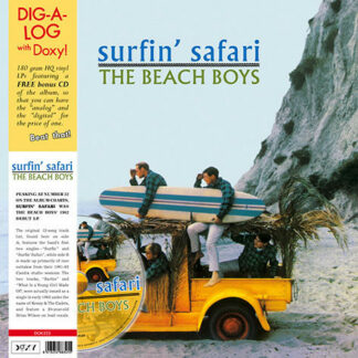 The Beach Boys - Surfin' Safari (LP, Album, RE + CD, Album, CD )