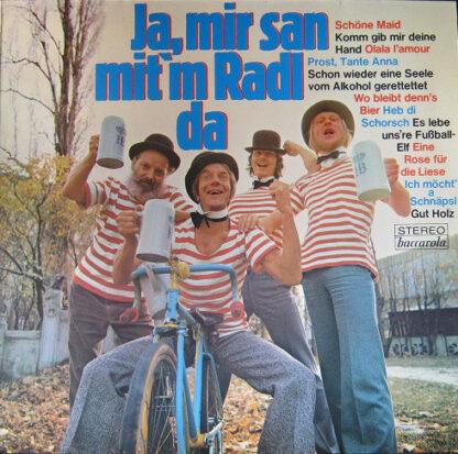 Various - Ja, Mir San Mit'm Radl Da (LP, Comp)