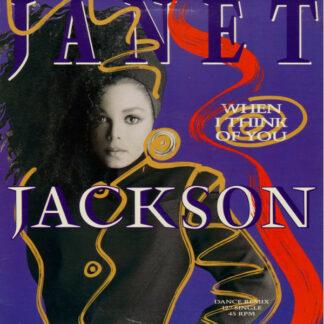 "Janet Jackson - When I Think Of You (Dance Remix) (12"", Single, Bla)"