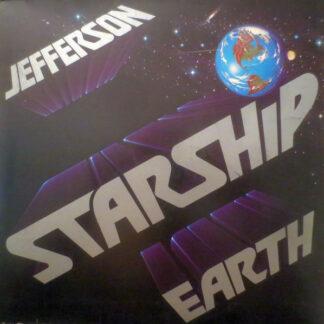 Jefferson Starship - Earth (LP, Album, Gat)