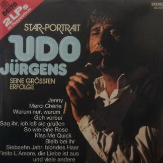 Udo Jürgens - Star-Portrait Udo Jürgens Seine Grössten Erfolge (2xLP, Comp, Gat)