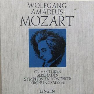 Wolfgang Amadeus Mozart - Ouvertüren - Serenaden - Symphonien - Konzerte - Krönungsmesse (5xLP + Box)