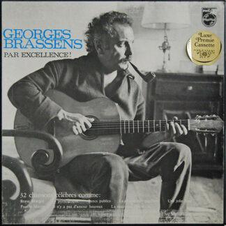 Georges Brassens - Georges Brassens Par Excellence! 32 Chansons Célèbres (2xLP, Comp + Box)