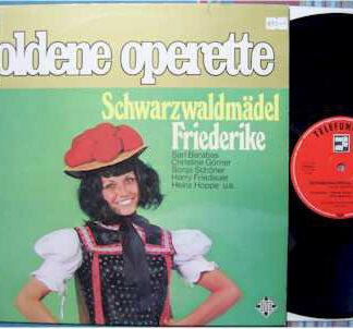 Various - Goldene Operette - Schwarzwaldmädel / Friederike (LP)