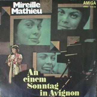 Mireille Mathieu - An Einem Sonntag In Avignon (LP, Comp, RP)
