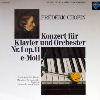 Frédéric Chopin, Ernst Gröschel, Münchner Symphoniker, Alexander von Pitamic - Konzert Für Klavier Und Orchester Nr.1 Op.11 E-moll (LP)