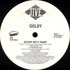 "Goldy (2) - Nuthin' But A Tramp (12"", Promo)"