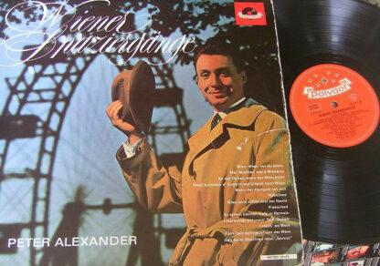 Peter Alexander - Wiener Spaziergänge  (LP, Comp, Mono)