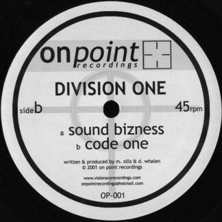 "Division One - Sound Bizness / Code One (12"")"