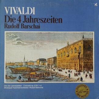 Vivaldi*, Moskauer Kammerorchester*, Rudolf Barshai - Die 4 Jahreszeiten (LP, Club)