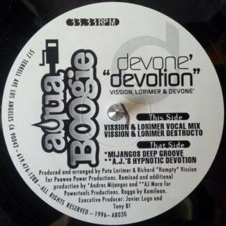 "Devone'* - Devotion (12"")"