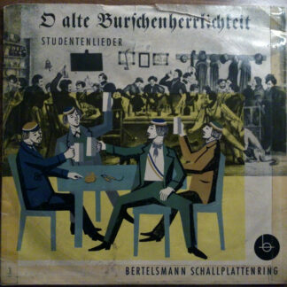 "Various - O Alte Burschenherrlichkeit (10"")"