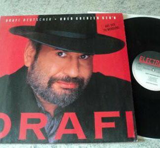 Drafi Deutscher - Über Grenzen Geh'n (LP, Album, DMM)
