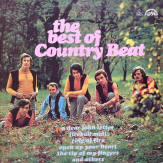 Jiří Brabec & His Country Beat* - The Best Of Country Beat (LP, Album, RP)