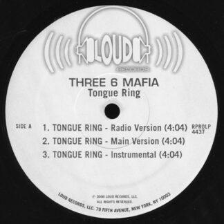 "Three 6 Mafia - Tongue Ring (12"", Promo)"