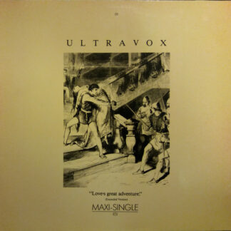 "Ultravox - Love's Great Adventure (Extended Version) (12"", Maxi)"