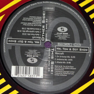 """Mr. Tom & Got Show - Warcraft (The German Mixes) (12"""", Promo, S/Edition)"""