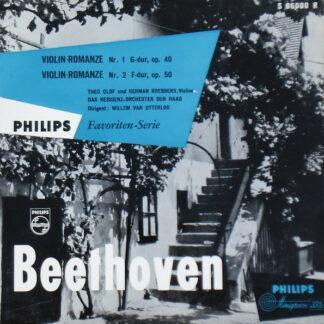 "Beethoven* - Violin-Romanze Nr.1 In G-Dur Op. 40   Violin-Romanze Nr. 2 In F-Dur Op. 50 (10"")"