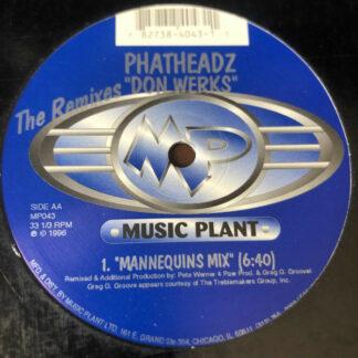 """The Don* - The Phatheadz (The Remixes) (12"""")"""