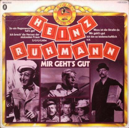 Heinz Rühmann - Mir Geht's Gut (LP, Comp, RE)