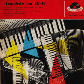 Maurice Larcange - Acordeăo Em Hi-Fi (LP, Mono)