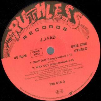 "J.J. Fad - Way Out (12"")"