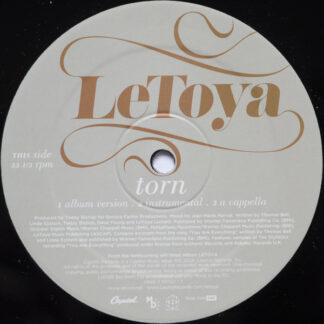 """Letoya - Torn (12"""", Single, Promo)"""