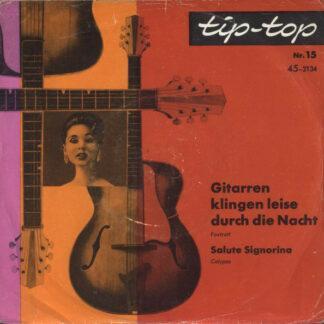 """Various - Gitarren Klingen Leise Durch Die Nacht (Flexi, 7"""", Single)"""