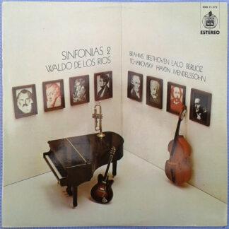 Waldo De Los Rios - Sinfonias 2 (LP, Album)
